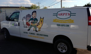 Heating-Van-graphics